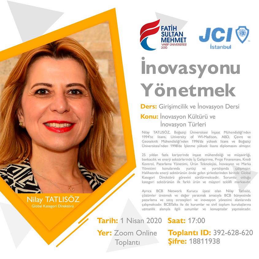 JCI İstanbul - İnavasyonu Yönetmek