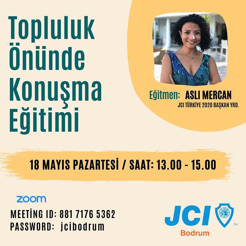JCI Bodrum   Topluluk Önünde Konuşma Eğitimi