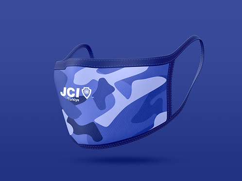 JCI Türkiye Logolu Hijyen Maskesi