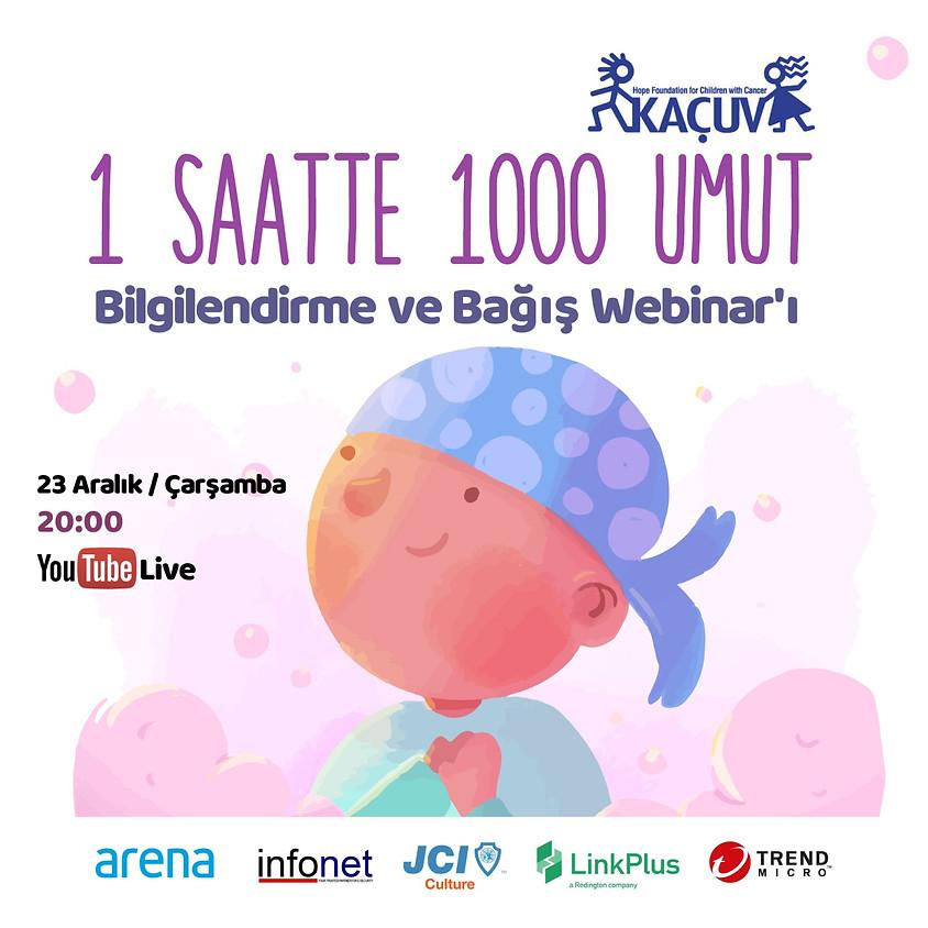 JCI KÜLTÜR | 1 SAATTE 1000 UMUT