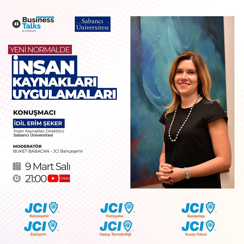 JCI Bahçeşehir - İK Paneli
