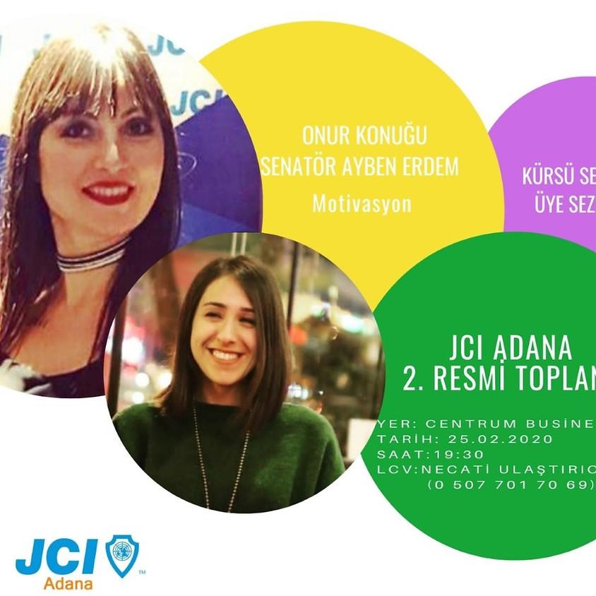 JCI Adana - 2. Resmi Toplantı