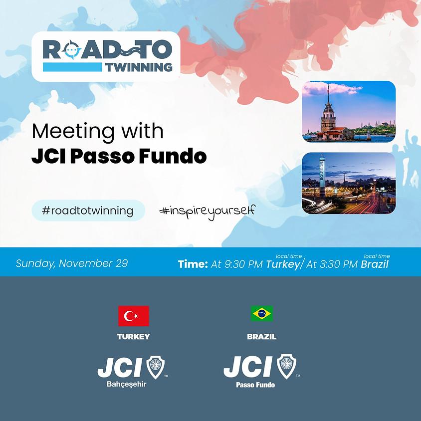 JCI Bahçeşehir   Road To Twinning - Peace in Turkey Peace