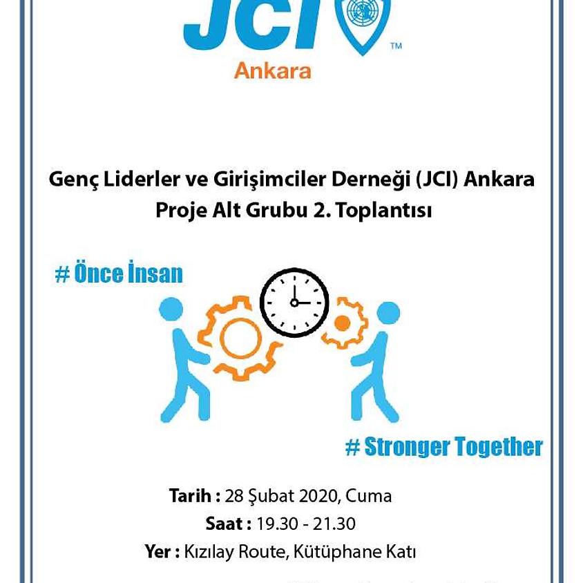 JCI Ankara   Proje alt grubu 2. toplantısı