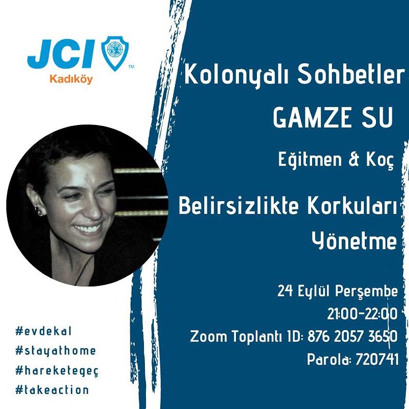 JCI Kadıköy   Kolonyalı Sohbetler - Belirsizlikte Korkuları Yönetme