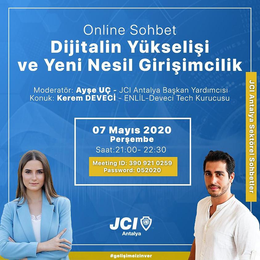 JCI Antalya - Dijitalin Yükselişi ve Yeni Nesil Girişimcilik