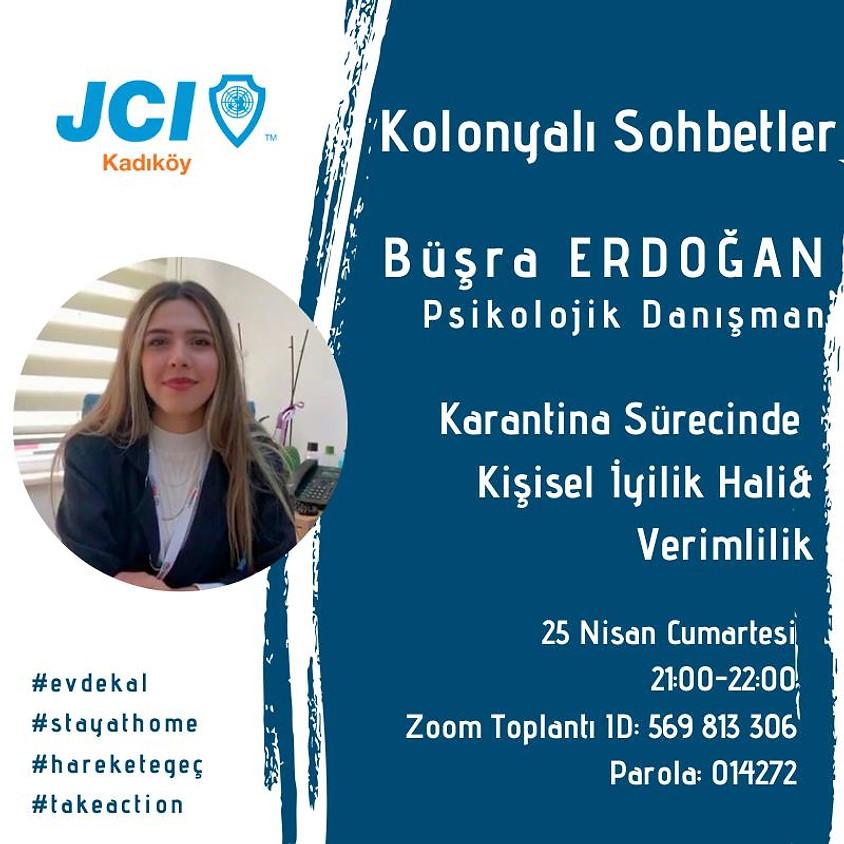 JCI Kadıköy   Karantina Sürecinde Kişisel İyilik Hali ve Verimlilik