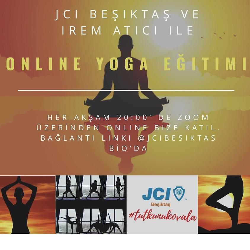 JCI Beşiktaş - Online Yoga Eğitimi