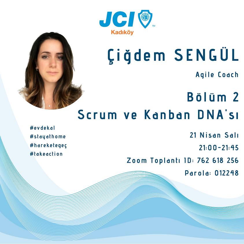 JCI Kadıköy - Agile Dönüşüme Hazır mısın ? Scrum ve Kanban DNA'sı