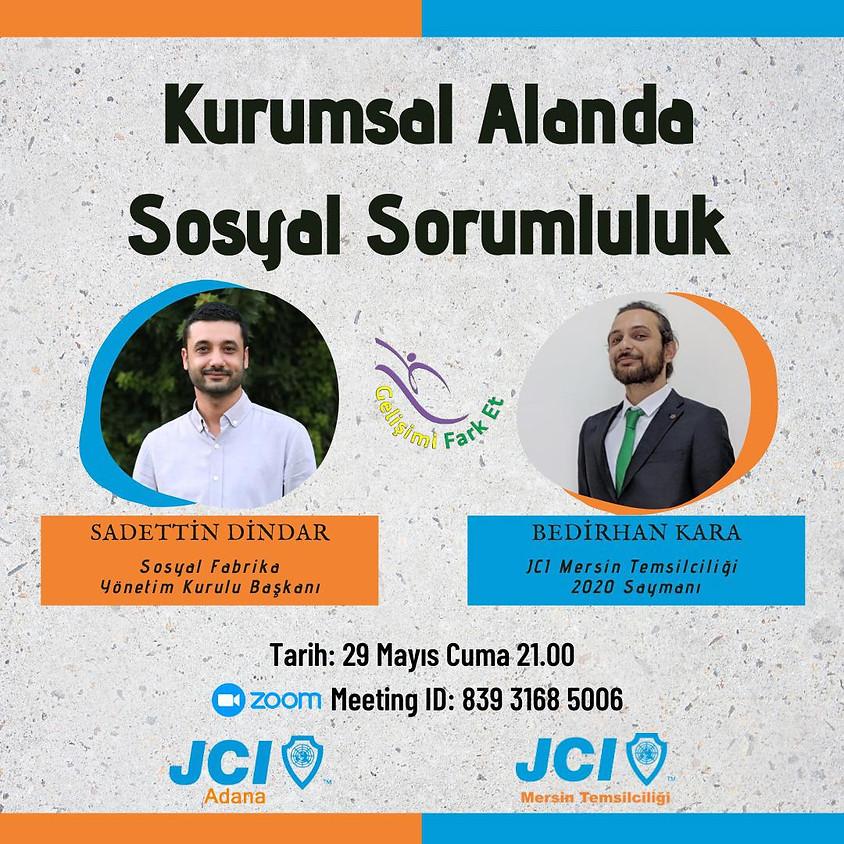 JCI Adana JCI Mersin   Kurumsal Alanda Sosyal Sorumluluk