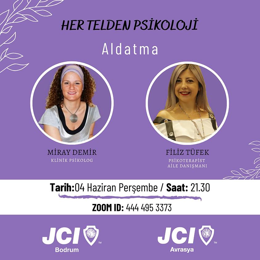 JCI Bodrum - JCI Avrasya | Her Telden Psikoloji Sohbetleri