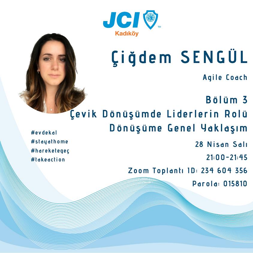JCI Kadıköy - Agile Dönüşüme Hazır mısın? Çevik Dönüşümde Liderlerin Rolü