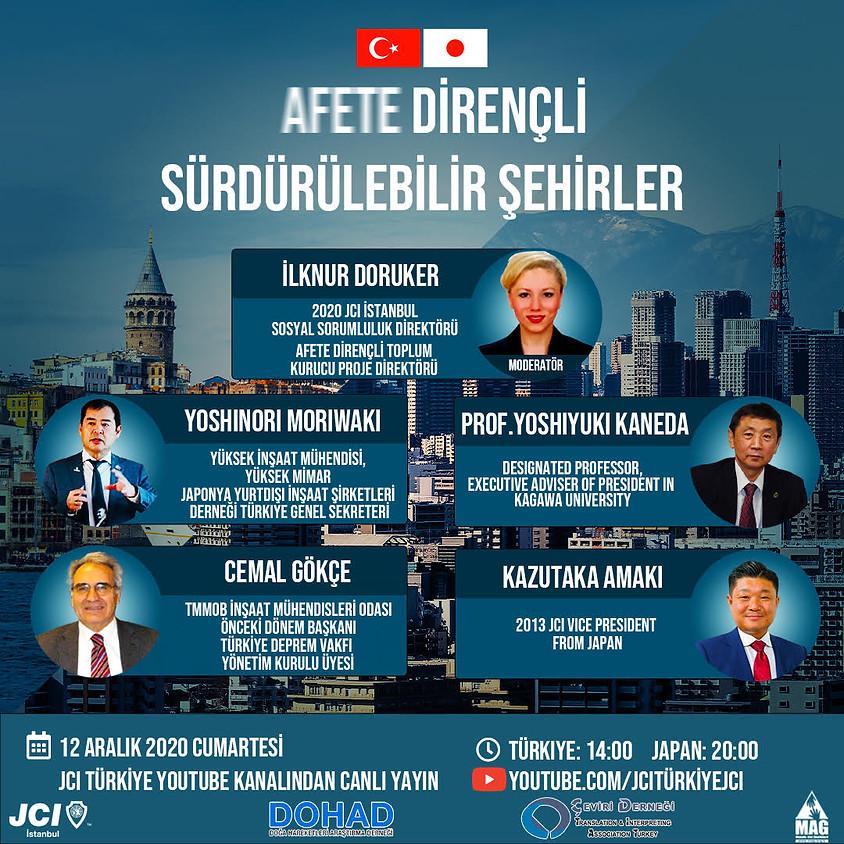 JCI İSTANBUL | AFETE DİRENÇLİ SÜRDÜRÜLEBİLİR ŞEHİRLER