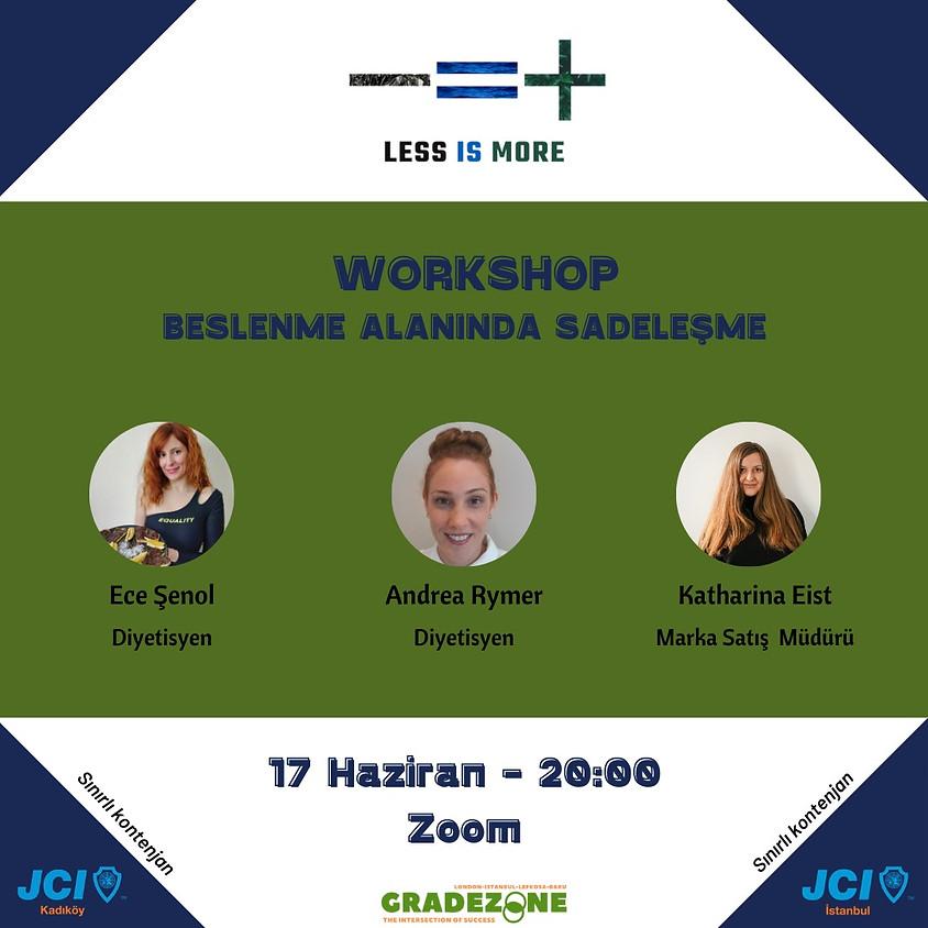 JCI İstanbul JCI Kadıköy | Less is more (Beslenme Alanında Sadeleşme)