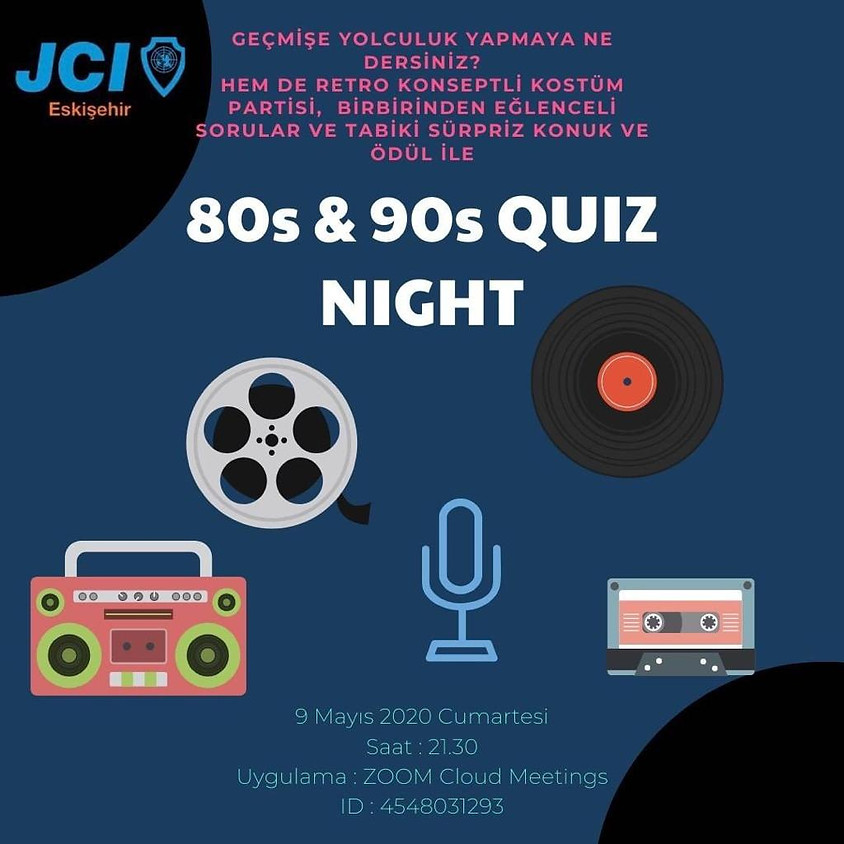 JCI Eskişehir | 80'ler 90'lar Quiz Nigh