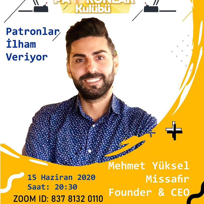 JCI Boğaziçi - JCI Maltepe | Patronlar İlham Veriyor - Mehmet Yüksel