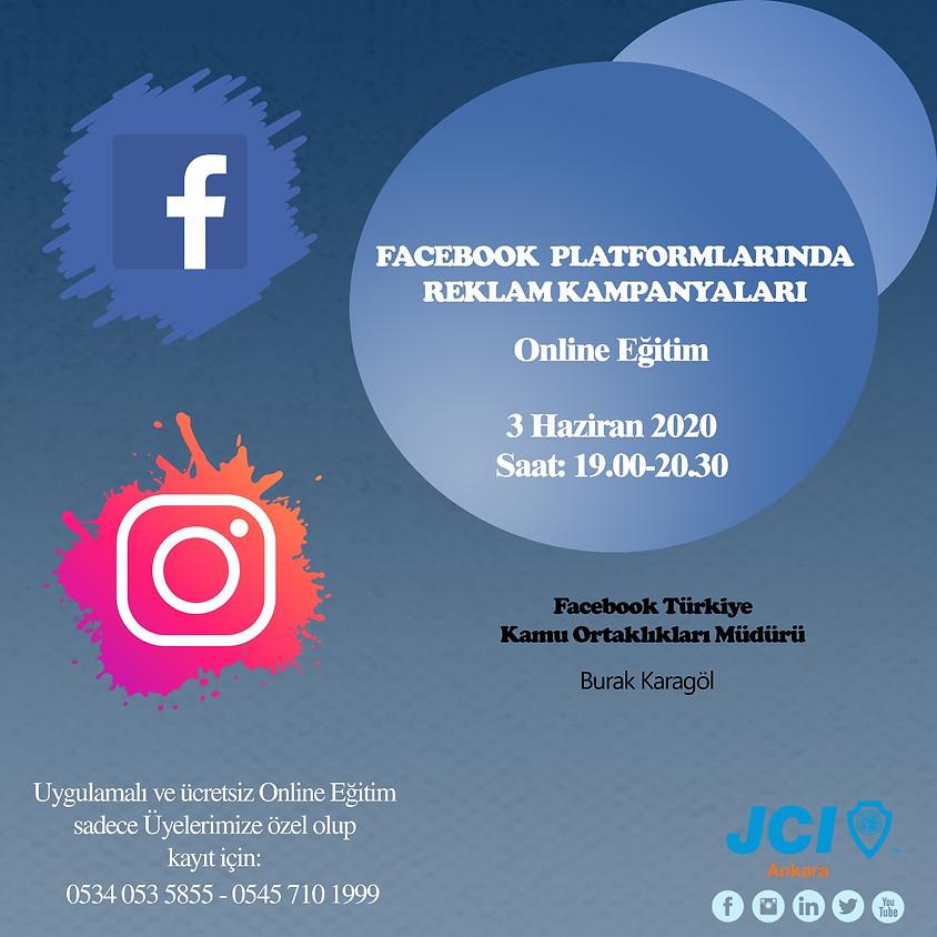 JCI Ankara | Facebook Platformlarında Reklam Kampanyaları