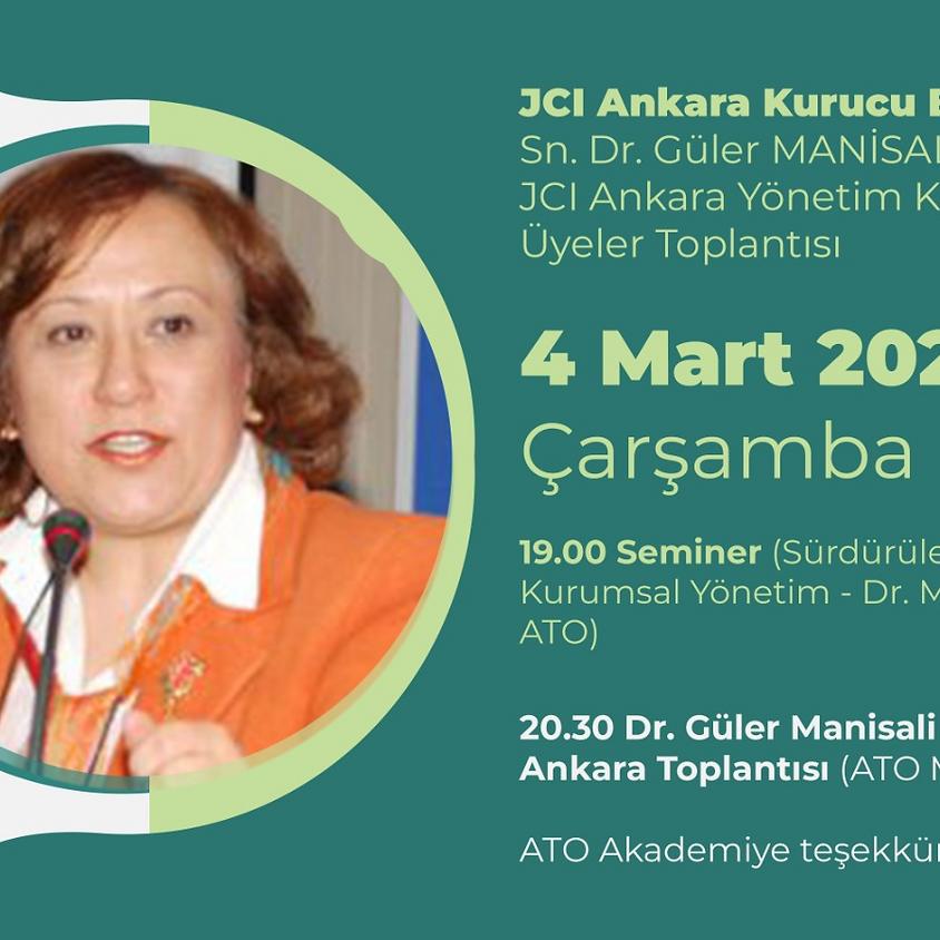 JCI Ankara   Sürdürülebilir Şirketler için Kurumsal Yönetim