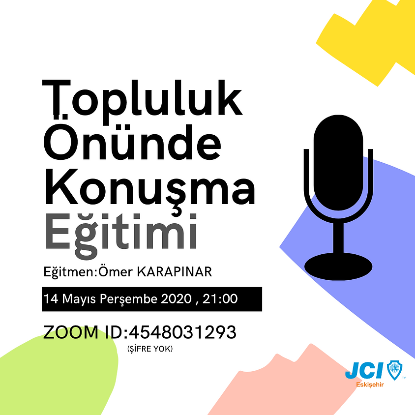 JCI Eskişehir | Topluluk Önünde Konuşma Eğitimi