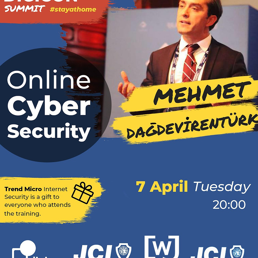 "JCI Culture - Digicon Summit ""Online Cyber Security"""