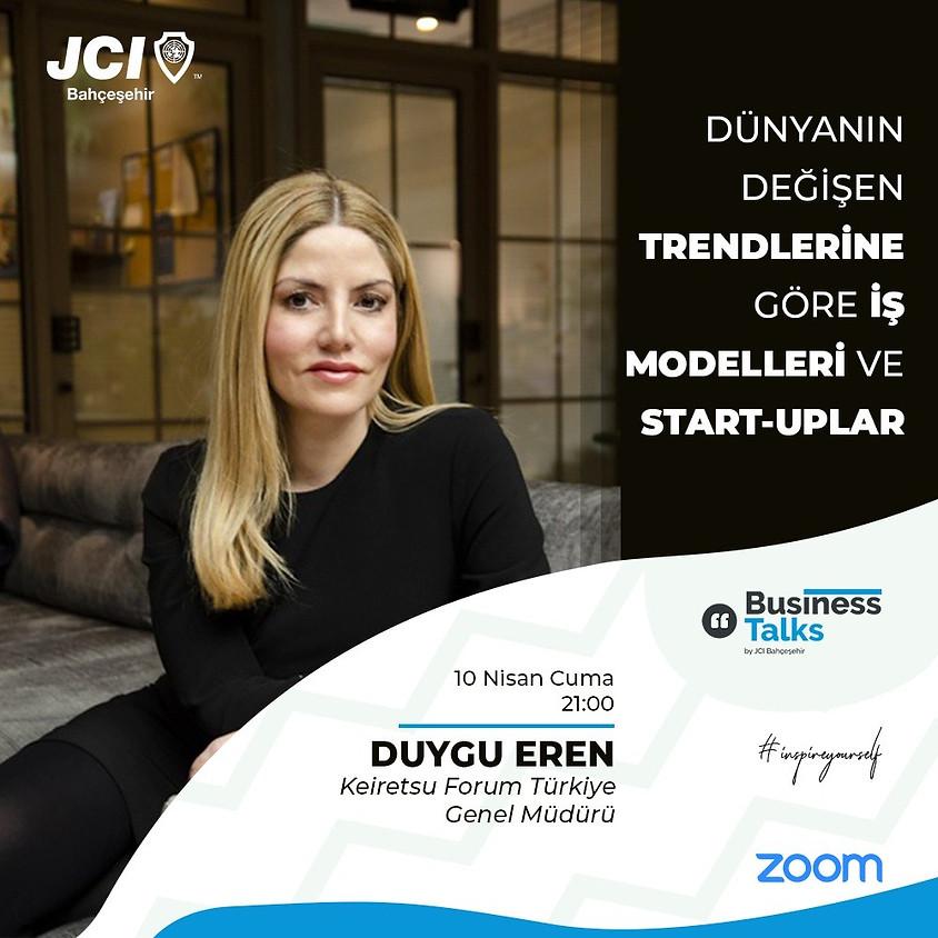 JCI Bahçeşehir - Dünyanın Değişen Trendlerine Göre İş Modelleri ve Start-Uplar
