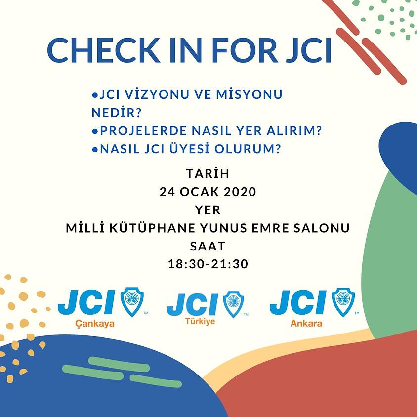 JCI Ankara JCI Çankaya Check in For JCI