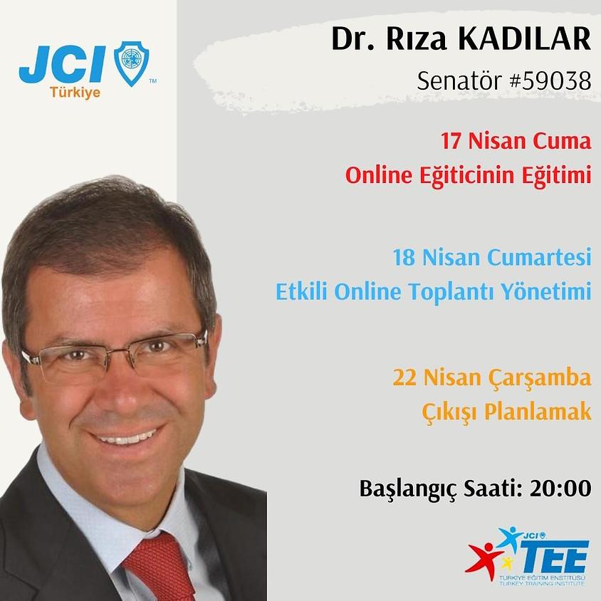 JCI Türkiye - Dr. Rıza Kadılar Eğitimler Serisi