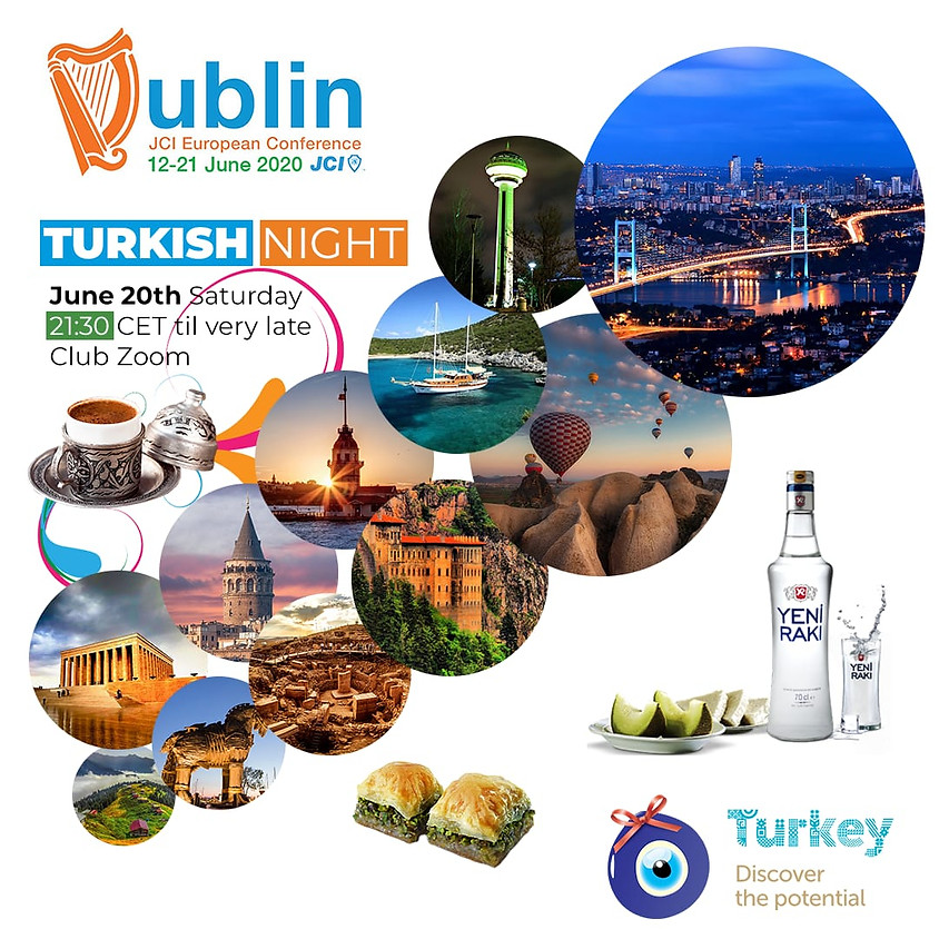 JCI European Conference 2020 The Last After Party: Turkish Night