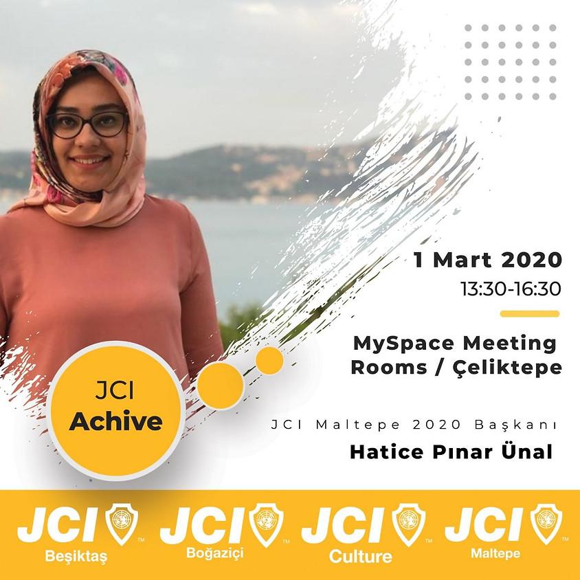 JCI Beşiktaş Boğaziçi Culture Maltepe - JCI ACHIVE Eğitimi