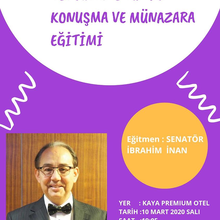 JCI Adana   Topluluk Önünde Konuşma ve Münazara Eğitimi