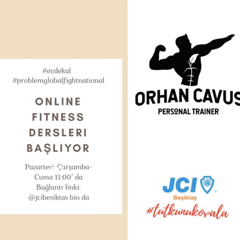 JCI Beşiktaş | Online Fitness