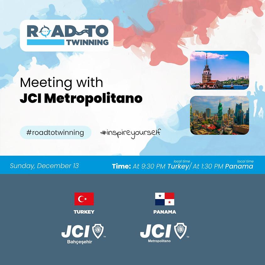 JCI Bahçeşehir | Road To Twinning - Meeting with Metropolitano