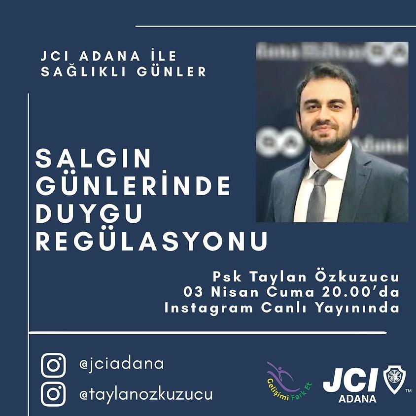 JCI Adana - Salgın Günlerinde Duygu Regülasyonu