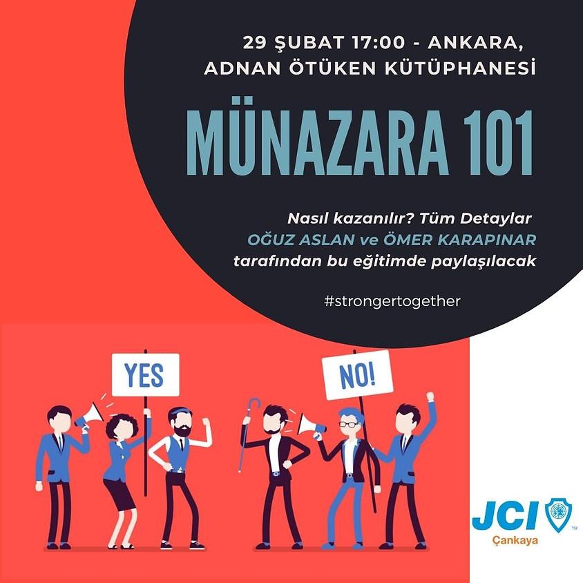 JCI Çankaya - Münazara 101