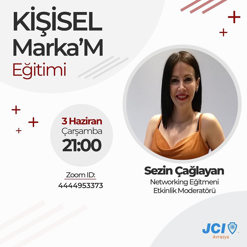JCI Avrasya | Kişisel Marka'm Eğitimi Sezin Çağlayan