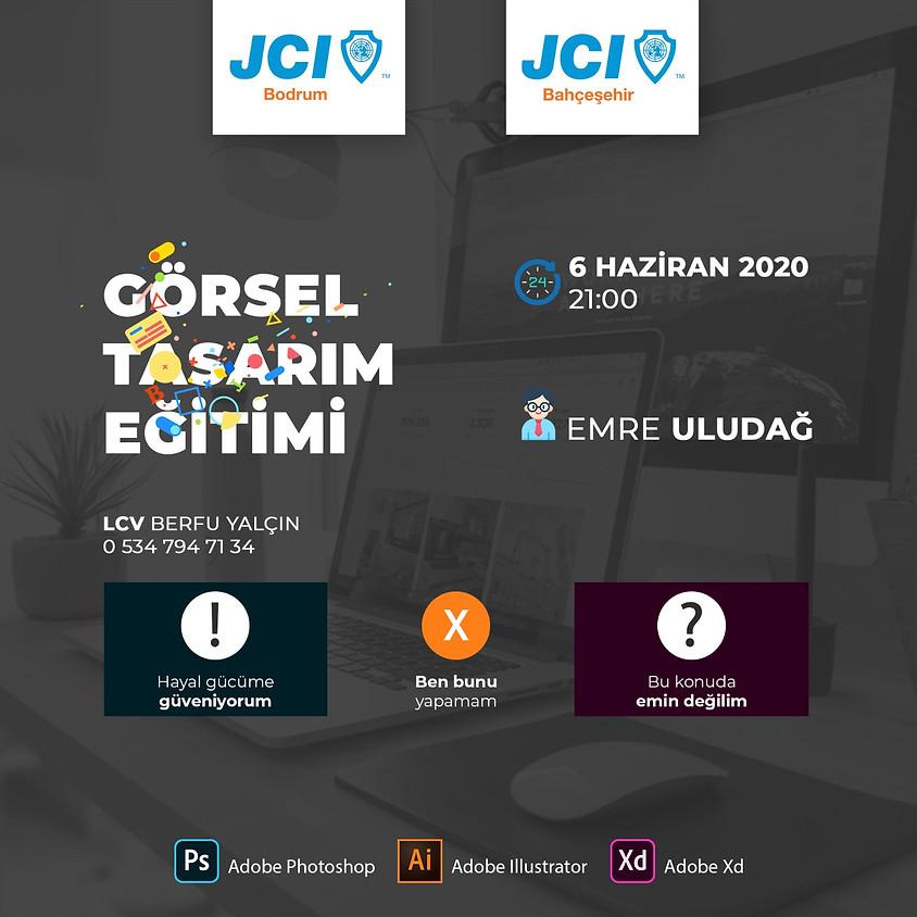JCI Bahçeşehir - JCI Bodrum | Görsel Tasarım Eğitimi