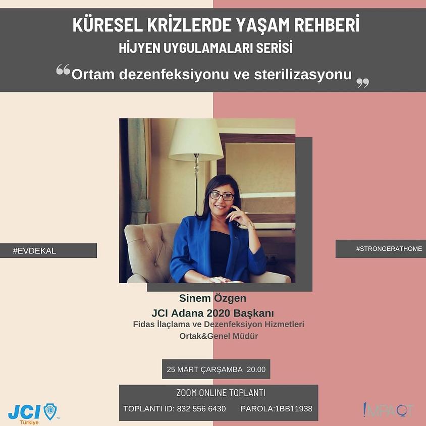 JCI Türkiye - Küresel Krizlerde Yaşam Rehberi: Hijyen Uygulamaları Serisi
