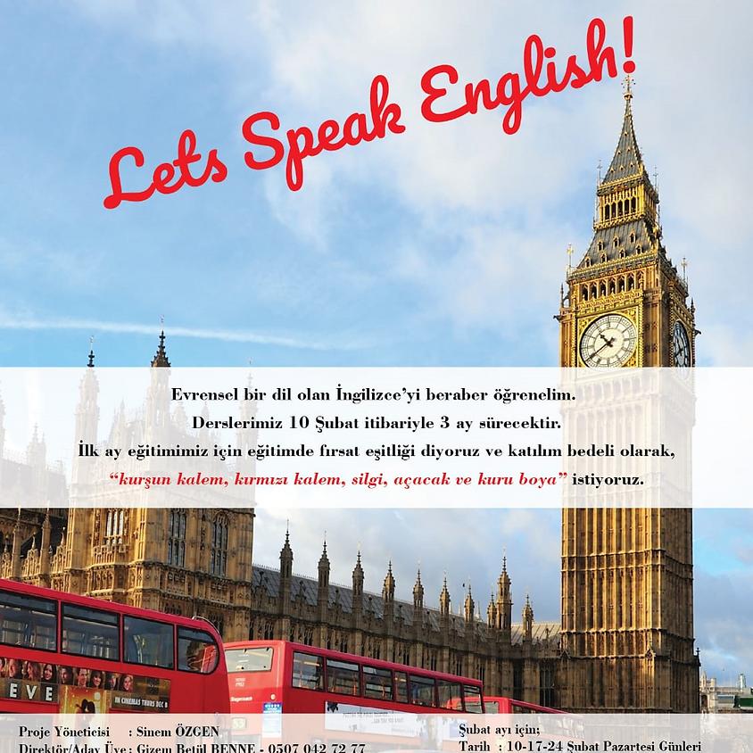 JCI ADANA   LETS SPEAK ENGLISH