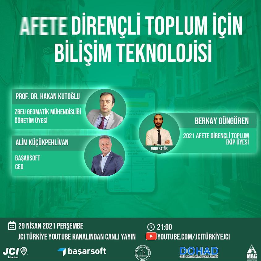 JCI İstanbul - Afete Dirençli Toplum için Bilişim Teknolojisi