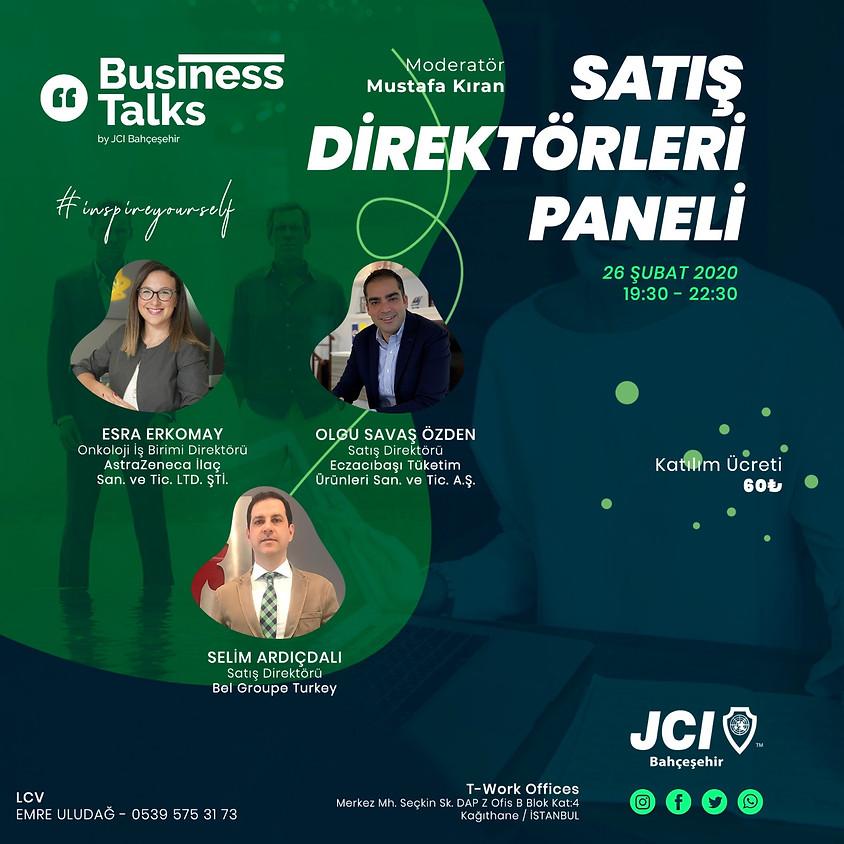 JCI Bahçeşehir Business Talks Satış Direktörleri Paneli