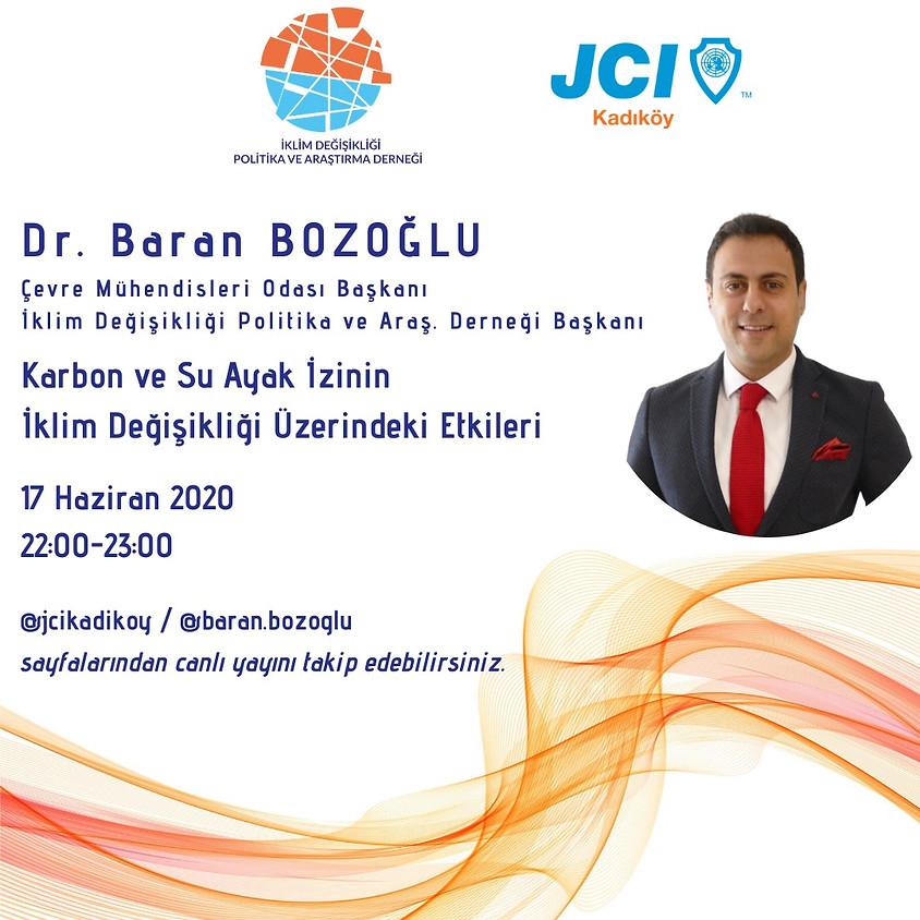 JCI Kadıköy | Karbon ve Su Ayak İzinin İklim Değişikliği Üzerindeki Etkileri