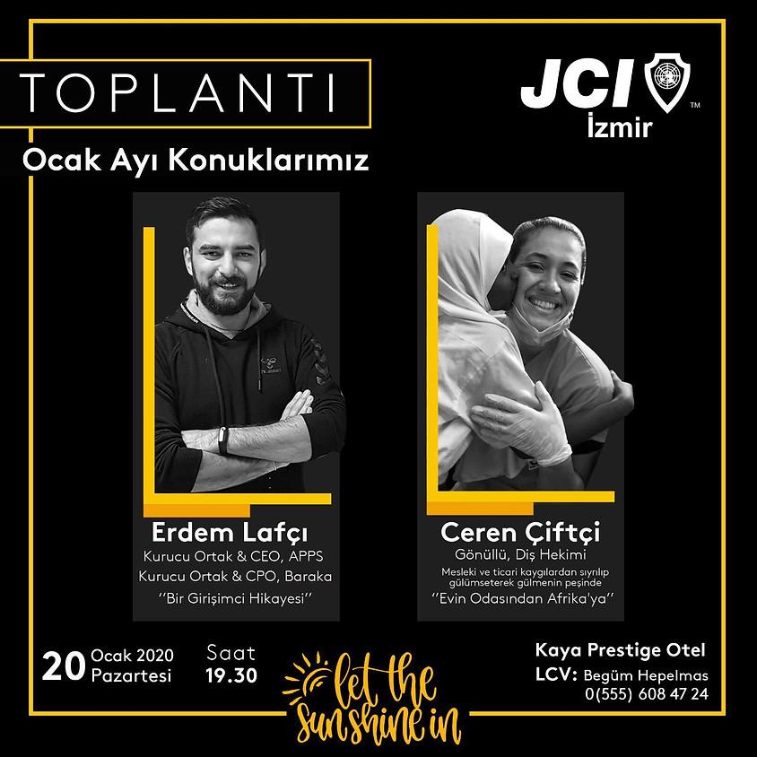 JCI İzmir Şubesi 1. mutad toplantısı