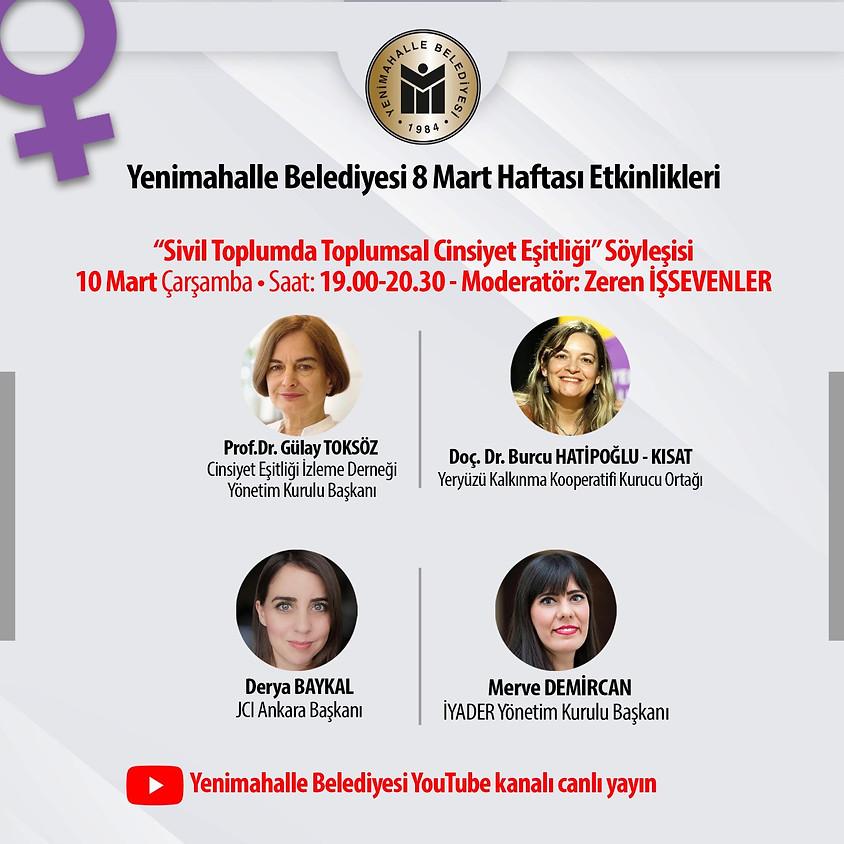 JCI Ankara | Yenimahalle Belediyesi 8 Mart Haftası Etkinlikleri