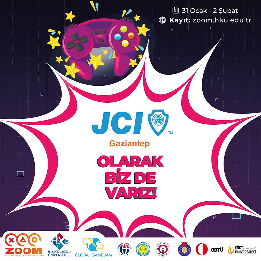 JCI Gaziantep - GLOBAL GAME JAM