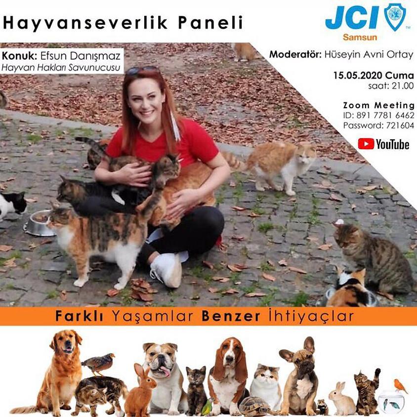JCI Samsun | Hayvan severlik Paneli
