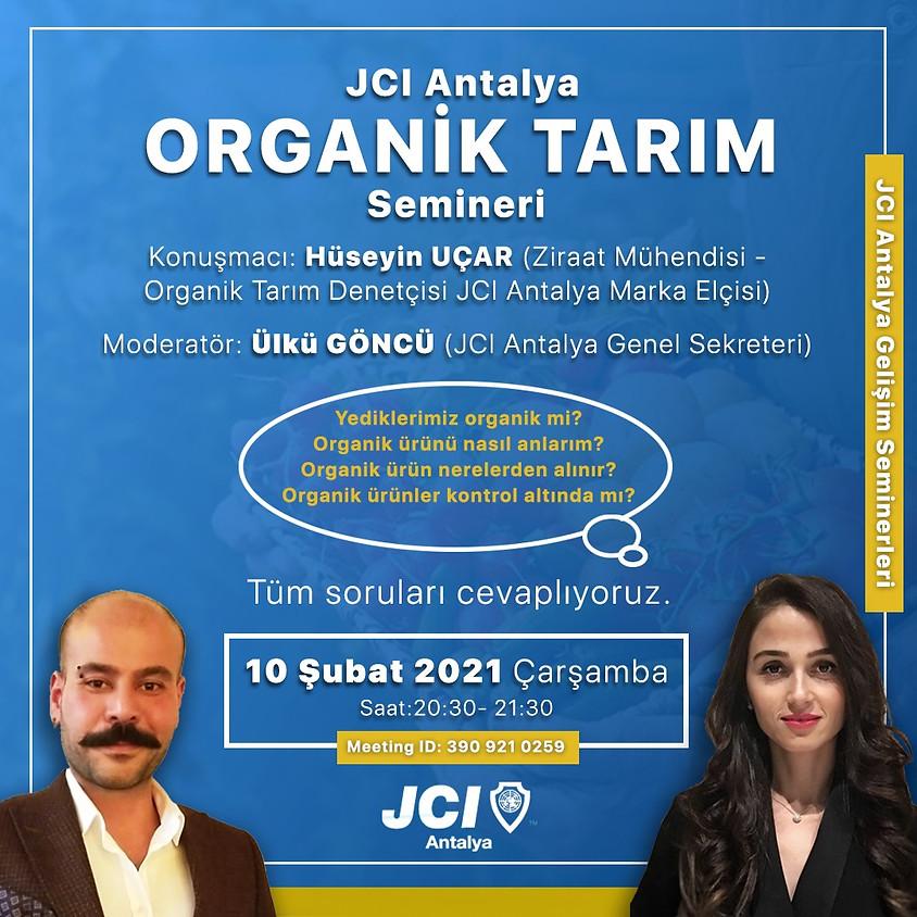 JCI Antalya | Organik Tarım Semineri