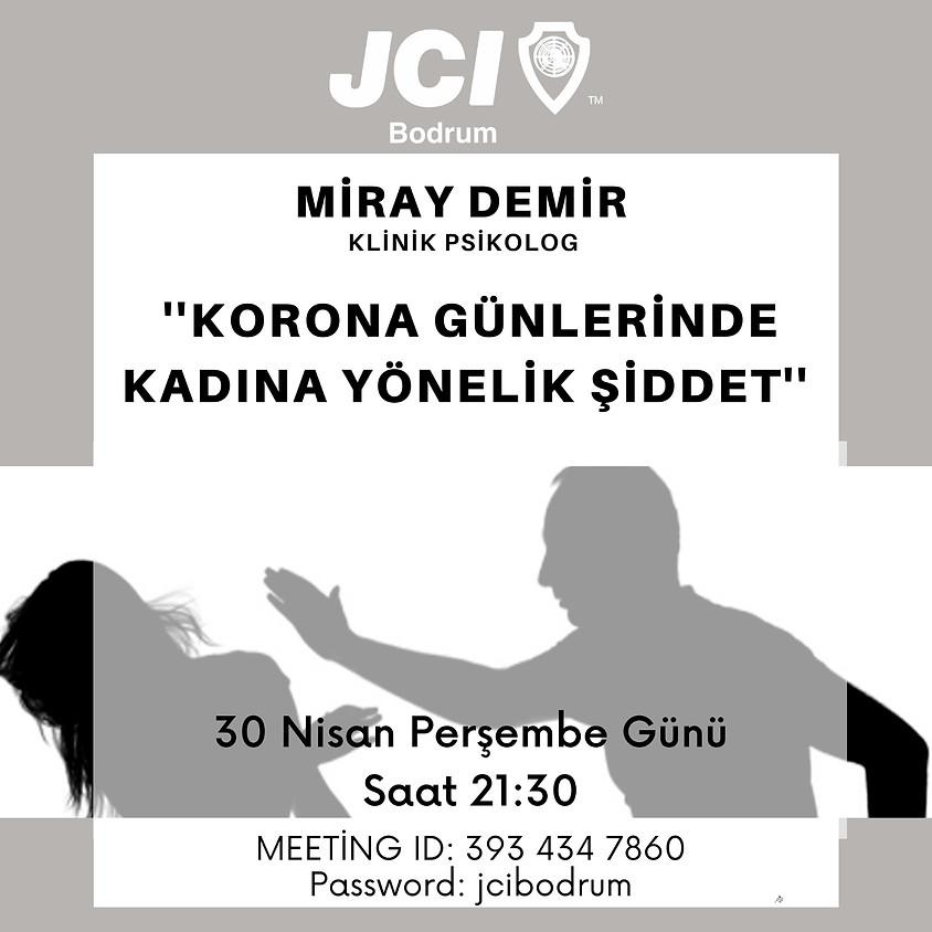 JCI Bodrum   Korona günlerinde kadına yönelik şiddet