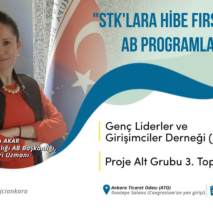 JCI Ankara | STK'lara Hibe Fırsatları ve AB Programları