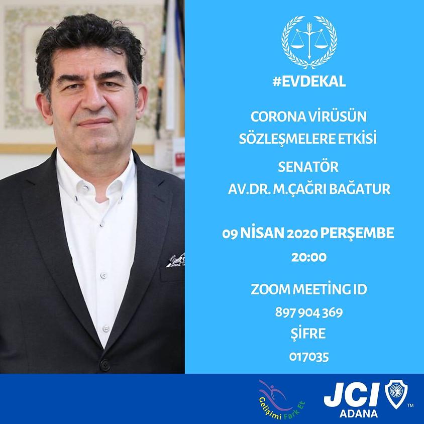 JCI Adana - Coronavirüsün Sözleşmelere Etkisi