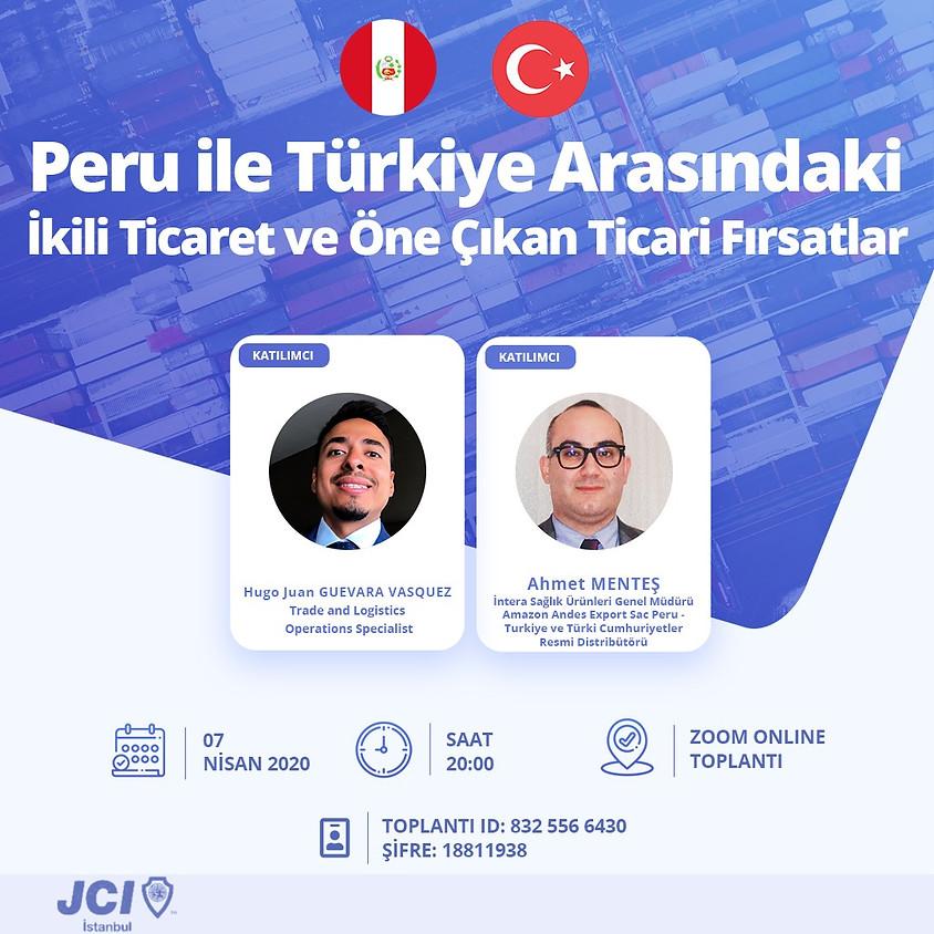 JCI İstanbul | Peru İş Fırsatları Etkinliği Online